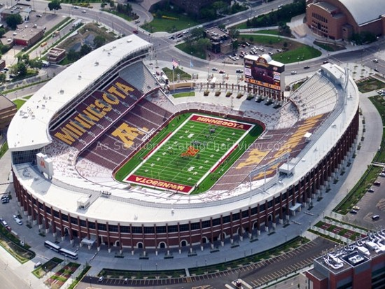 TCF Bank Stadium, Minneapolis MN