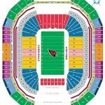 University of Phoenix Stadium Football Seating Chart