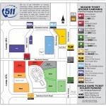 University of Phoenix Stadium Parking Map