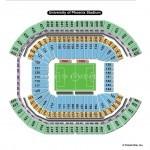 University of Phoenix Stadium Soccer Seating Chart