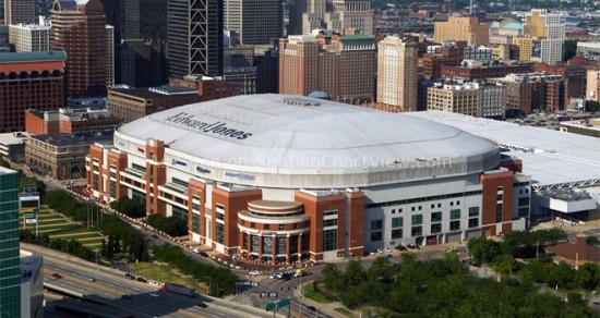 Edward Jones Dome, St. Louis MO