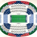 AT&T Stadium Football Seating Chart