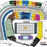 AT&T Park Football Seat Map