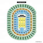 Honda Center End Stage Seating Chart