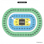 Honda Center Seating Chart Center Stage