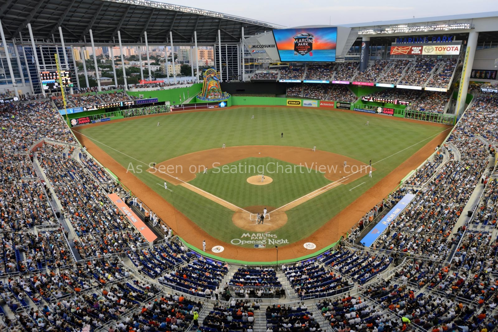 Marlins Park, Miami FL