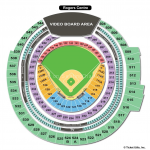 Rogers Centre Baseball Seat Map