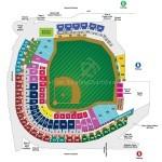 Target Field Baseball Seat Map