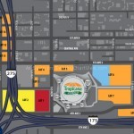 Tropicana Field Parking Map