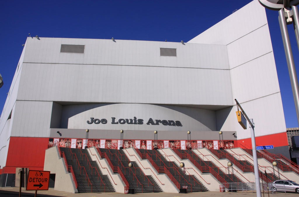 Joe Louis Arena, Detroit MI