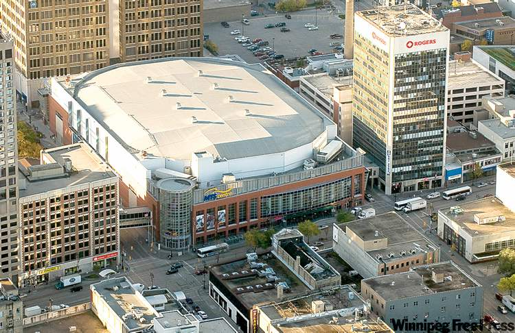 MTS Centre, Winnipeg MB