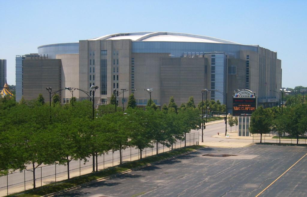 Exterior: United Center, Chicago IL