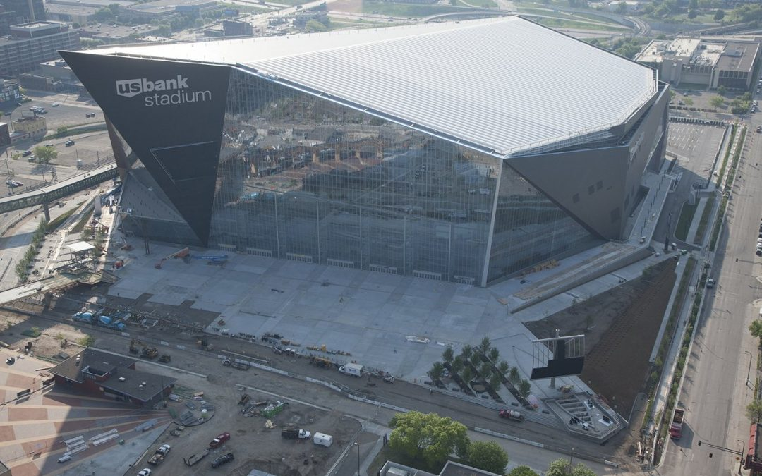 US Bank Stadium, Minneapolis MN