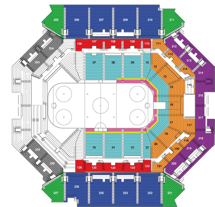 Barclays center brooklyn ny seating chart view
