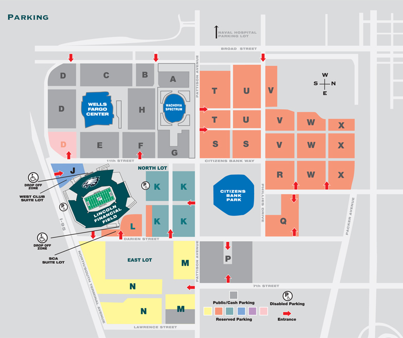 Lincoln Financial Field Parking Map My Blog - Lp field parking map