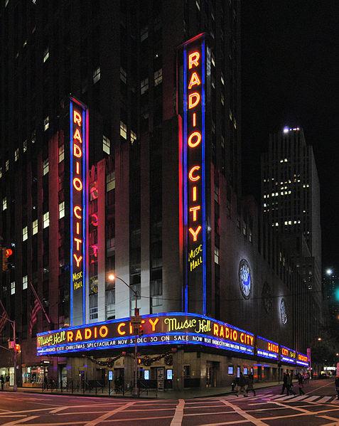 Radio City Music Hall, New York, NY