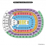 Wells Fargo Center End Stage Seating Chart