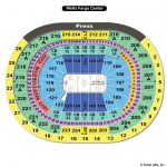 Wells Fargo Center Hockey Seating Chart