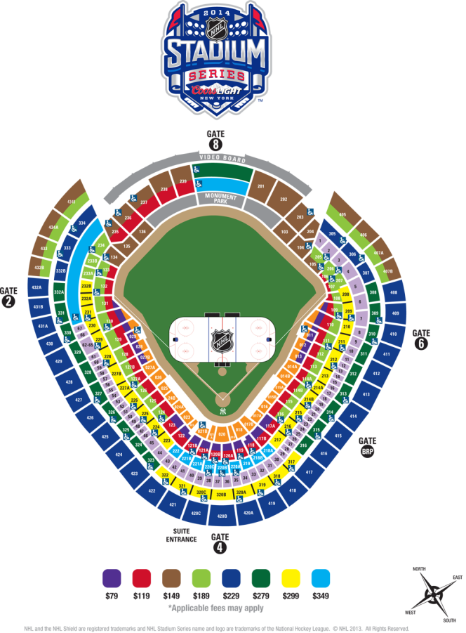 Yankee Stadium, Bronx NY - Seating Chart View