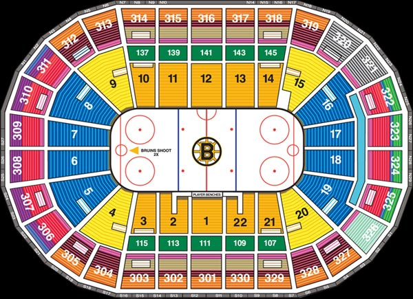 Boston bruins td garden seating chart best idea garden