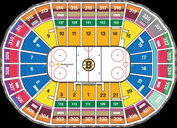 Formula 1 Boston >> TD Garden, Boston MA | Seating Chart View
