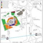 FedExField Parking Map