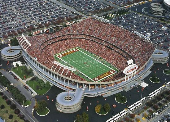 Arrowhead Stadium, Kansas City MO | Seating Chart View