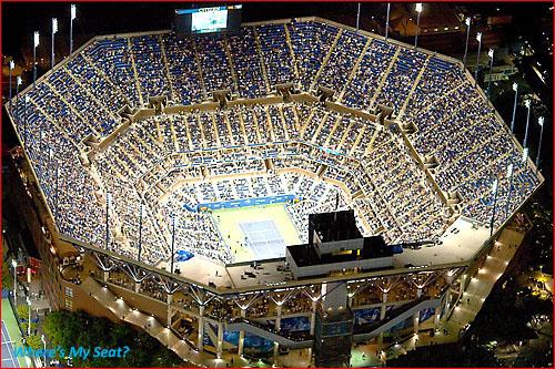 Arthur Ashe Stadium, Queens NY