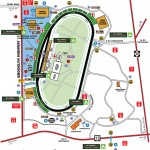 Michigan International Speedway Facility Map