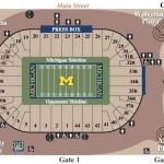 Michigan Stadium Football Seating Chart