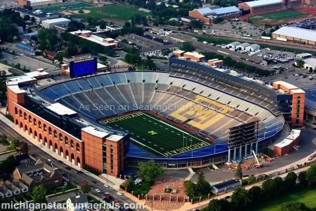 Michigan Stadium, Ann Arbor MI