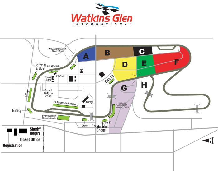 Watkins Glen Race Track >> Watkins Glen International, Watkins Glen NY | Seating Chart View