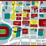 Bank of America Stadium Parking Map