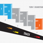 Circuit of the Americas Turn 1 Grandstand Seating Map