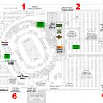 Lambeau Field Parking Map