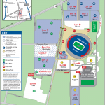 Ralph Wilson Stadium Parking Map