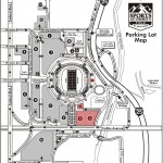 Sports Authority Field at Mile High Parking Map