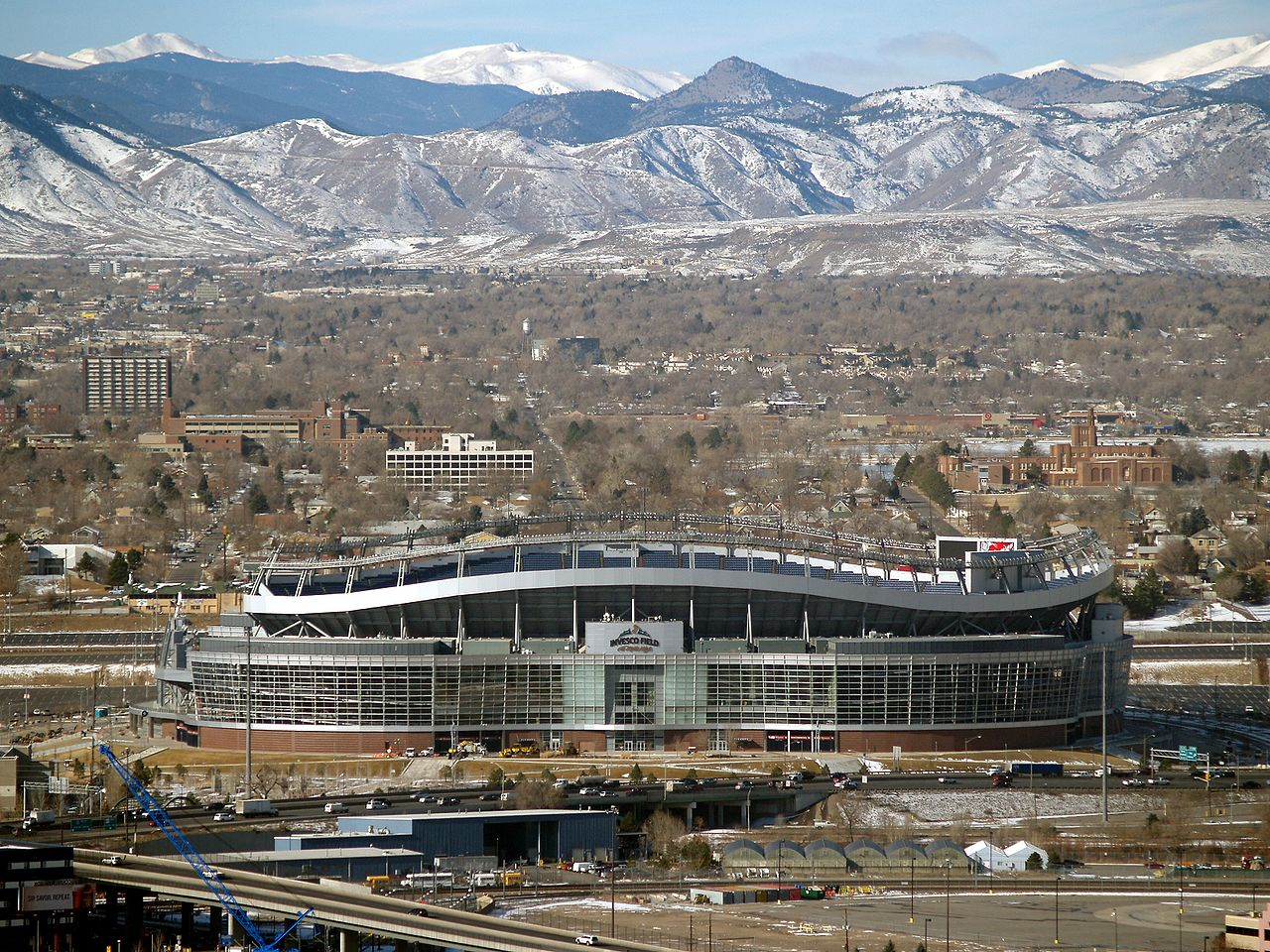 Sports Authority Field at Mile High, Denver CO