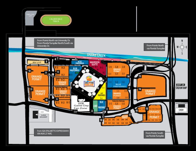 Hard Rock Stadium Miami Gardens Fl Seating Chart View