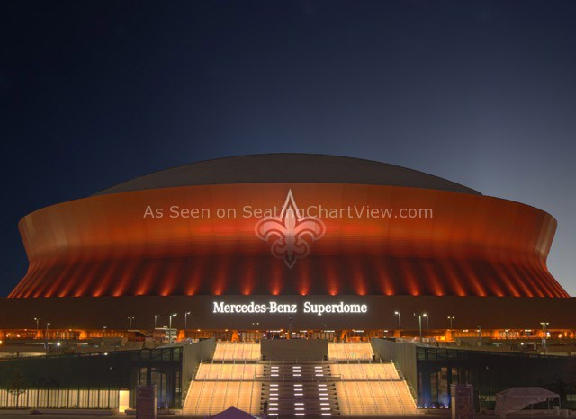 Mercedes Benz Superdome, New Orleans LA