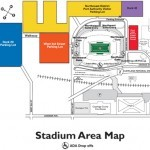 FirstEnergy Stadium Parking Map