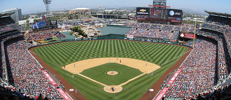 Angel Stadium of Anaheim, Anaheim CA