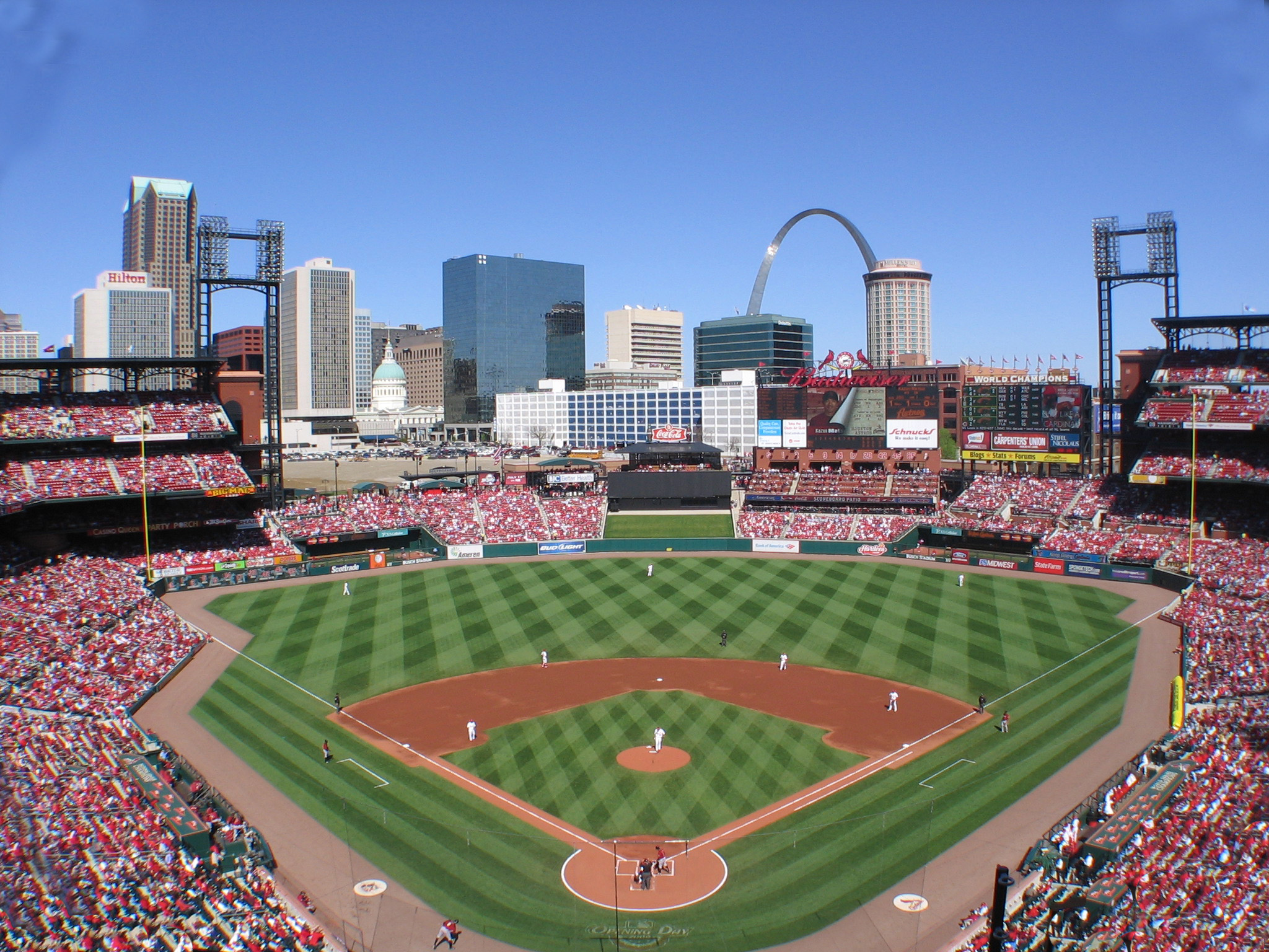 Busch Stadium, St. Louis MO | Seating Chart View