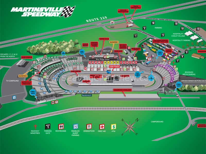 Martinsville Sdway Facility Map