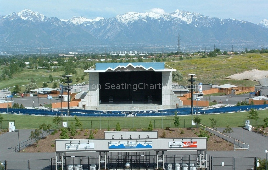 USANA Amphitheatre, Salt Lake City, UT