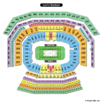 Levis Stadium Hockey Seating Chart