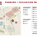 Levis Stadium Parking & Tailgating Map