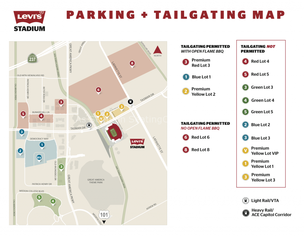 Image Result For Levis Stadium Concert Seating Map