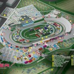 Dover International Speedway Facility Map