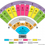 White River Amphitheatre Seating Chart